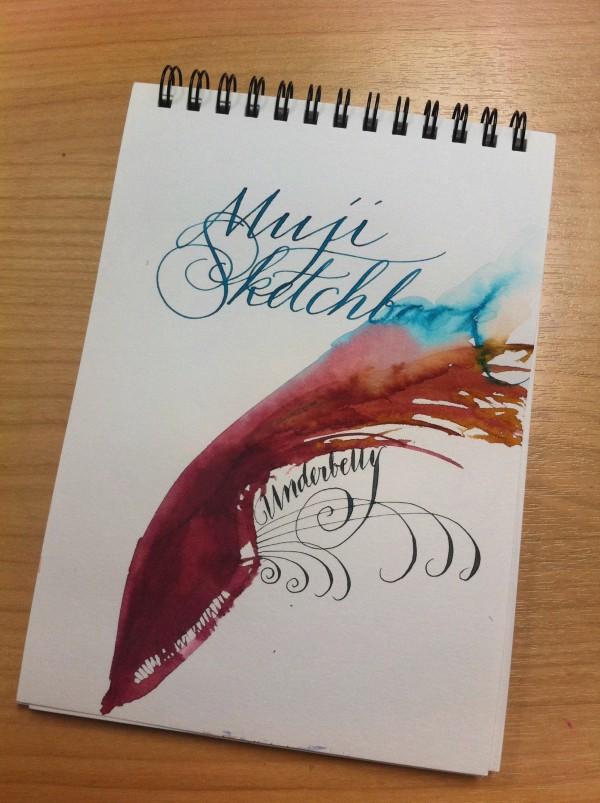 Watercolor, ink, water