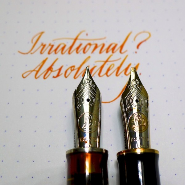 Two M1000 nibs