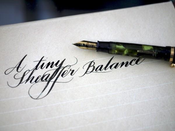 Writing sample on Midori letter paper