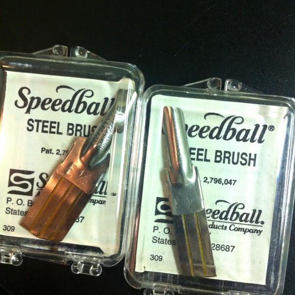 Speedball Steel Brush