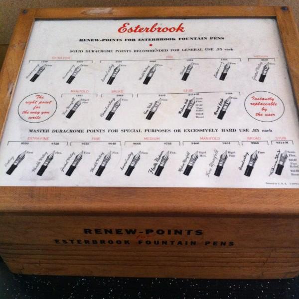 Esterbrook box