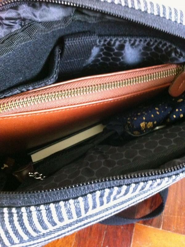 Hex bag, inside