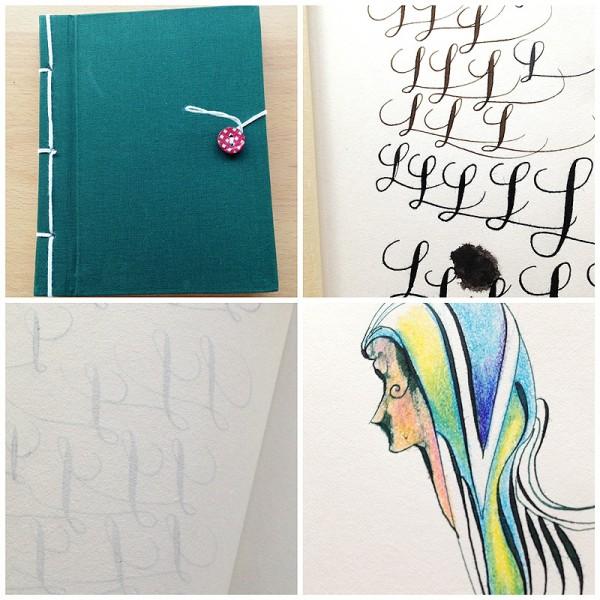 The little green notebook