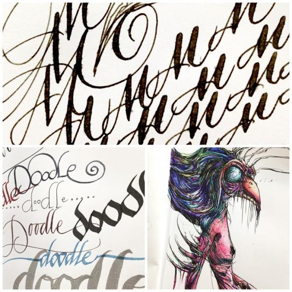 Artwork notebook - doodles