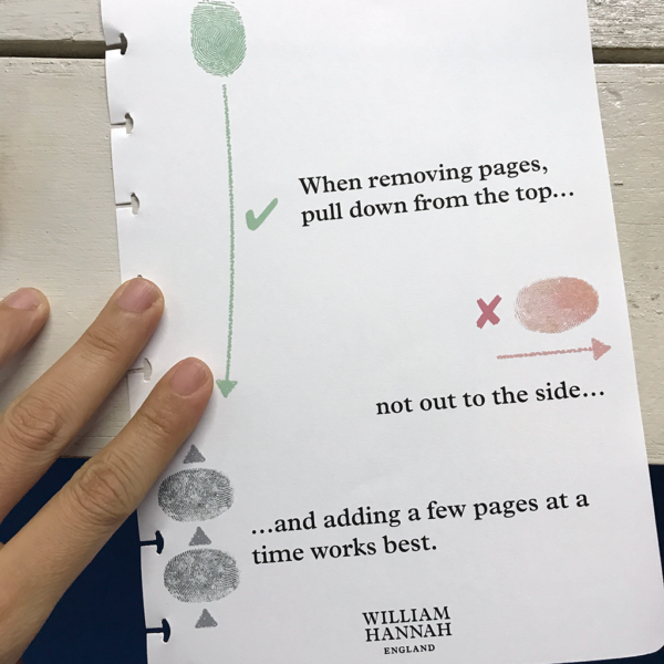 Words of wisdom from William Hannah :)