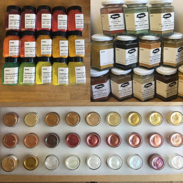 Pigments galore
